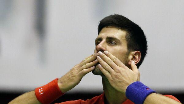 Novak Đoković u dresu Srbije - Sputnik Srbija