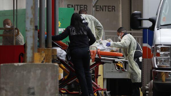 Хоспитализација пацијента болници у Њујорку  - Sputnik Србија