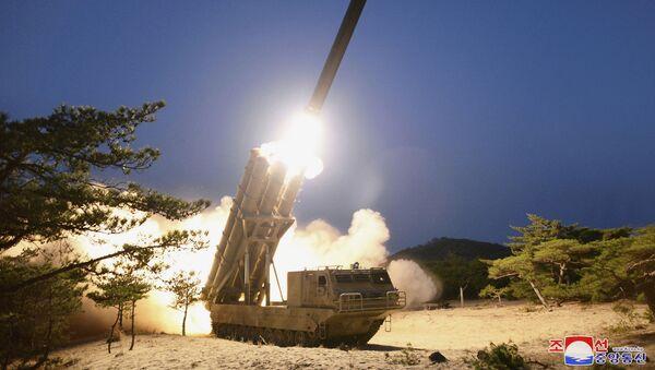 Vojna vežba severnokorejske armije - Sputnik Srbija