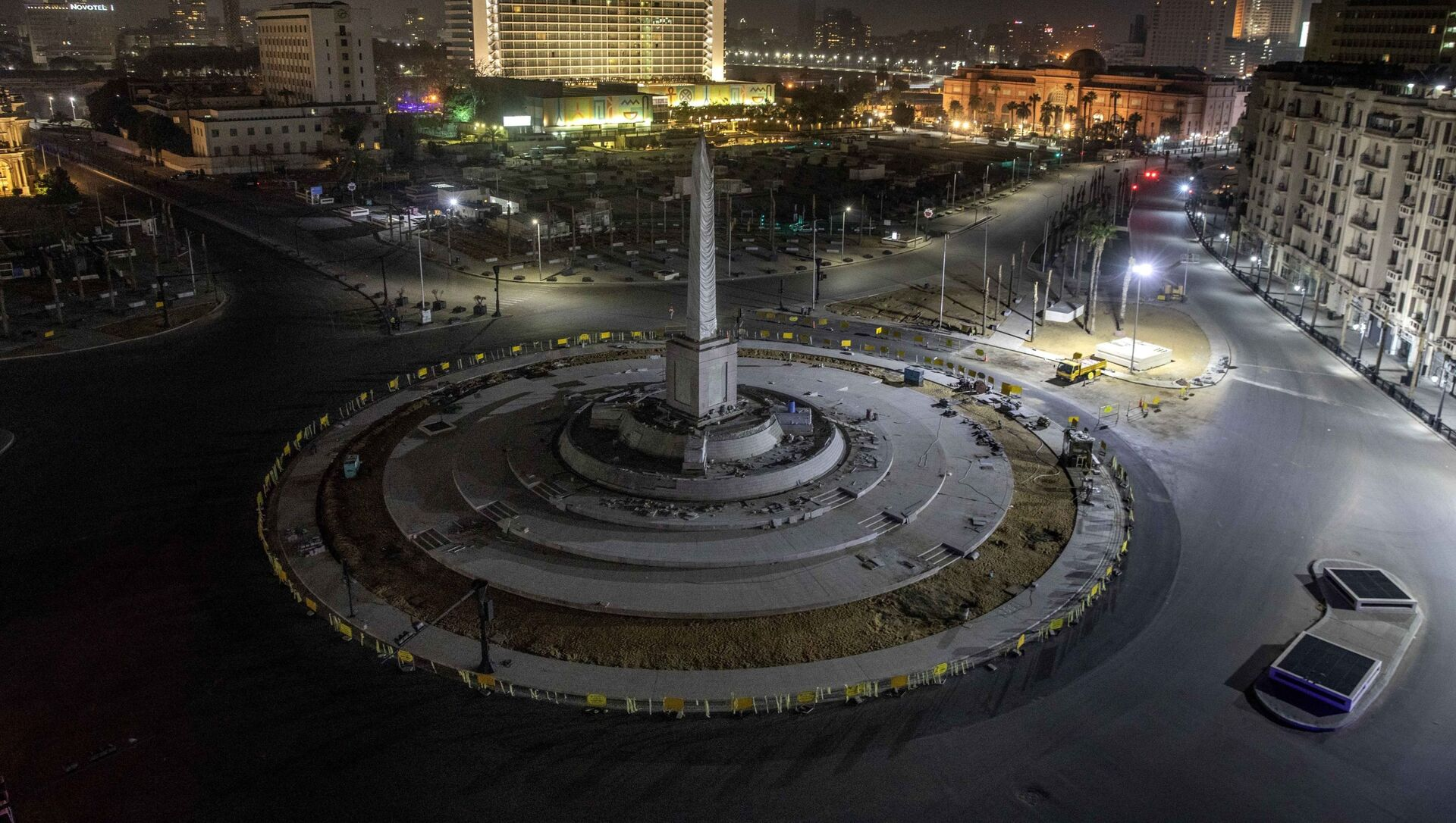 Policijski čas na Trgu tahrir u Egiptu - Sputnik Srbija, 1920, 09.03.2021