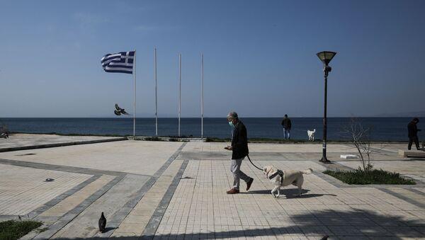 Грчка - Празно шеталише у Атини. - Sputnik Србија