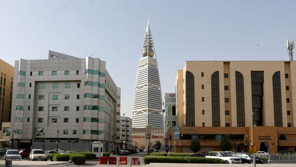 Puste ulice Rijada, glavnog grada Saudijske Arabije. - Sputnik Srbija