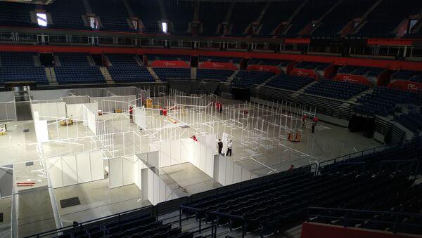 Beogradska arena alternativna bolnica - Sputnik Srbija
