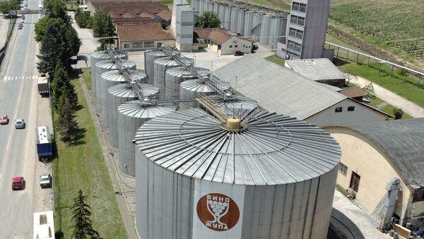 """Vino Župa""  godišnje preradi 50.000.000 litara vina - Sputnik Srbija"