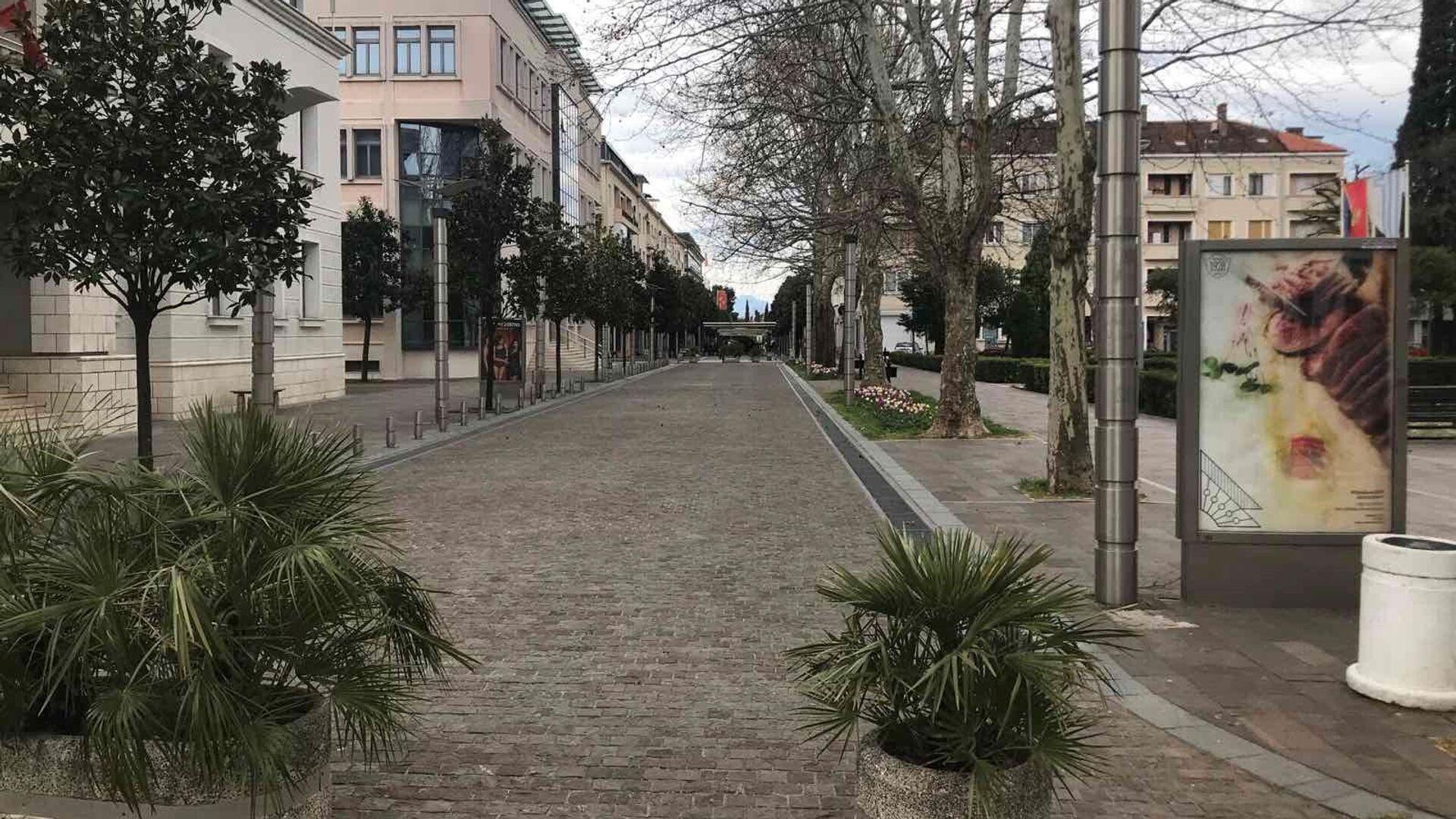 Podgorica - Sputnik Srbija, 1920, 26.07.2021
