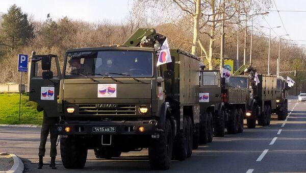 Руски војни стручњаци кренули у борбу против корона вируса у Србији - Sputnik Србија