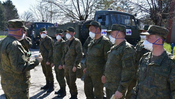 Руска војска у Ваљеву - Sputnik Србија