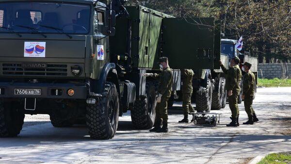 Ruska vojska u Valjevu - Sputnik Srbija