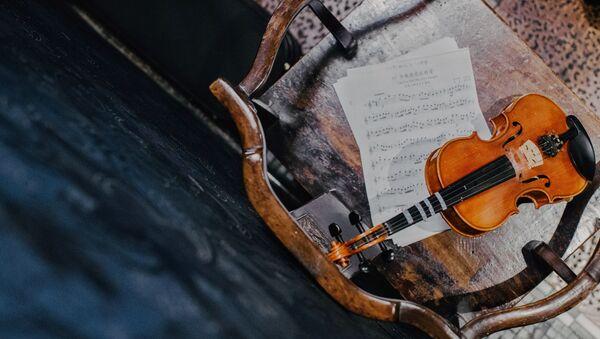 Violina na stolici - Sputnik Srbija
