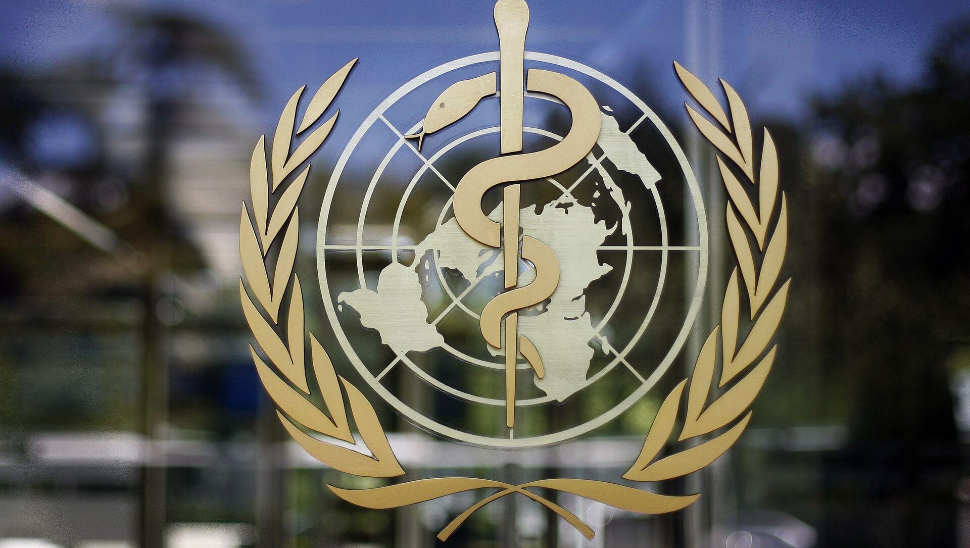Лого Светске здравствене организације (СЗО) - Sputnik Србија, 1920, 13.04.2021