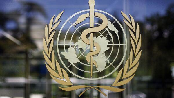 Лого Светске здравствене организације (СЗО) - Sputnik Србија