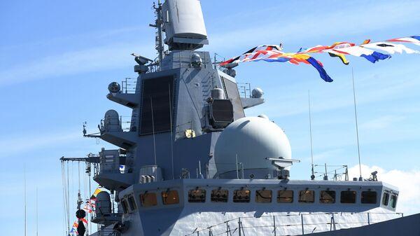 """Руска фрегата """"Адмирал Касатонов""""  - Sputnik Србија"""