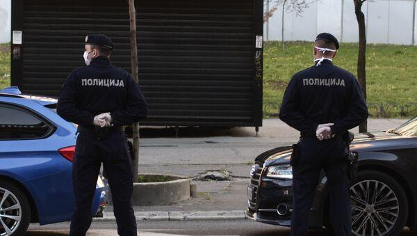 Поицајци у Београду током ванредног стања. - Sputnik Србија