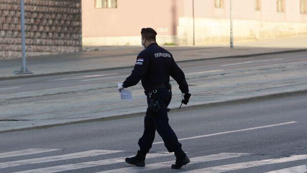 Policija obavlja kontrolu dozvola za kretanje - Sputnik Srbija