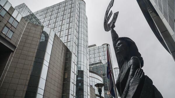 Зграда Европског парламента у Бриселу - Sputnik Србија