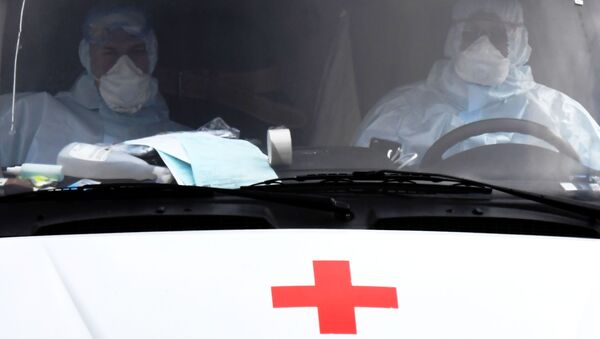 Возило хитне помоћи у Русији - Sputnik Србија