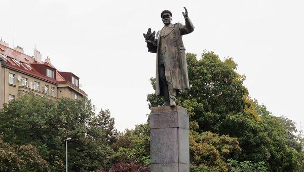 Spomenik Konjevu u Pragu - Sputnik Srbija