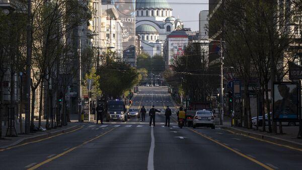 Policijska kontrola - Sputnik Srbija