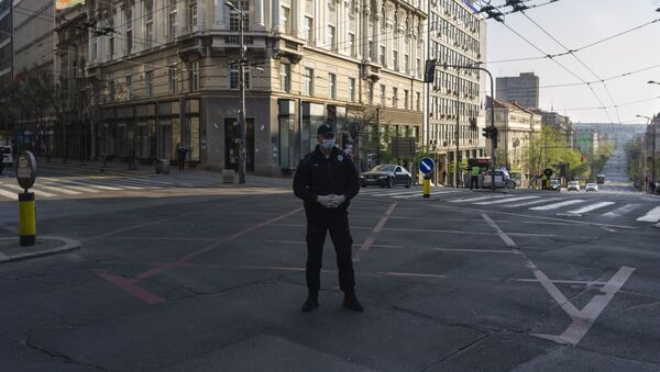 Полицијска контрола - Sputnik Србија