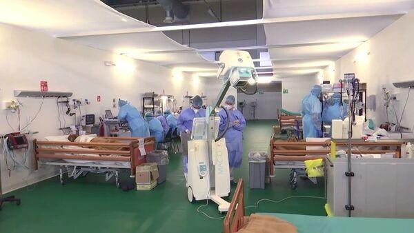 Ruski lekari u Bergamu - Sputnik Srbija