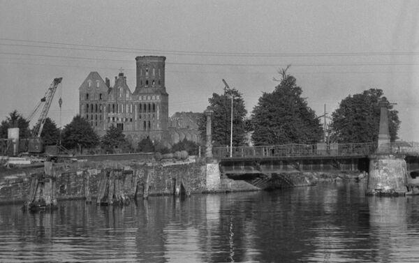 Католичка црква из 70-тих година 14. века СССР-а, град град Кенигсберг - Sputnik Србија