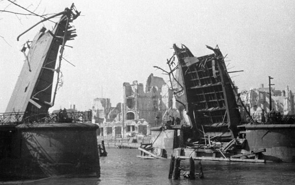 Кенигсберг након ослобађања совјетских трупа. - Sputnik Србија