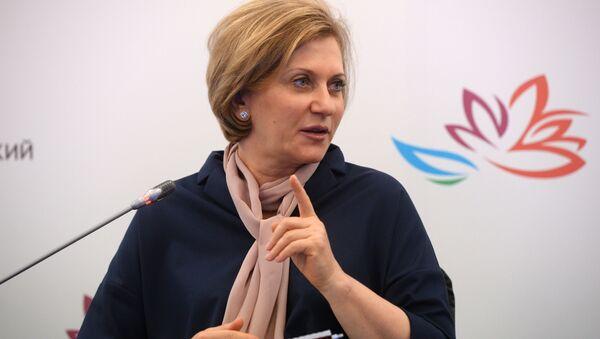 Šefica Ruskog državnog organa za sanitarni nadzor i kontrolu Ana Popova - Sputnik Srbija