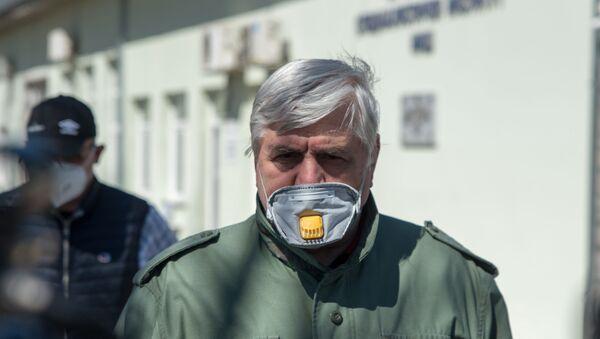Epidemiolog Branislav Tiodorović - Sputnik Srbija