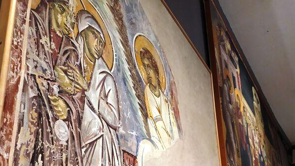 Replika fresaka iz manastira Studenica - Sputnik Srbija
