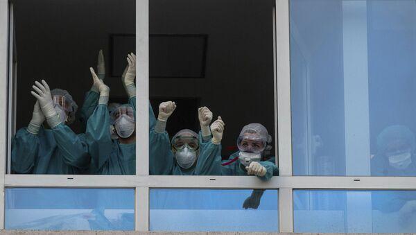 Medicinski radnici u Španiji - Sputnik Srbija