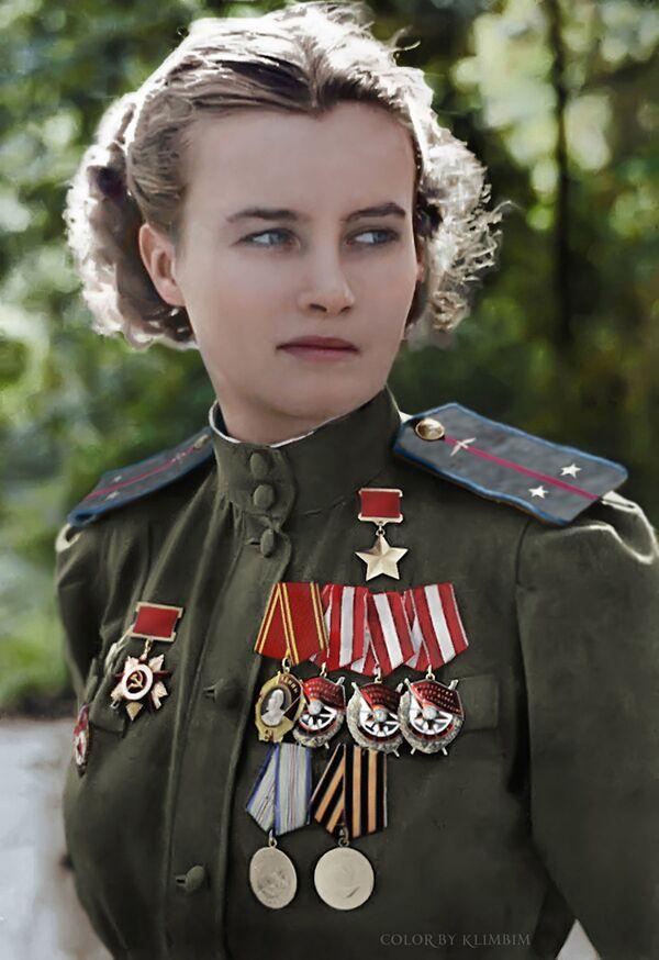 Совјетска авијатичарка Наталија Меклин. - Sputnik Србија