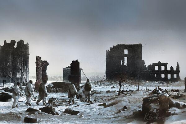 Стаљинград након ослобођења од нацистичких окупатора. - Sputnik Србија