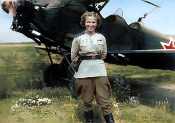 Совјетска авијатичарка Надежда Попова. - Sputnik Србија