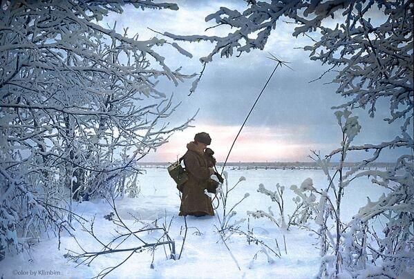 Постављање телекомуникационе мреже на првим линијама фронта, 1941. - Sputnik Србија