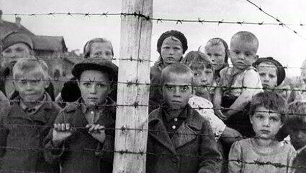 Деца у финском концентрационом логору у Петрозаводску - Sputnik Србија