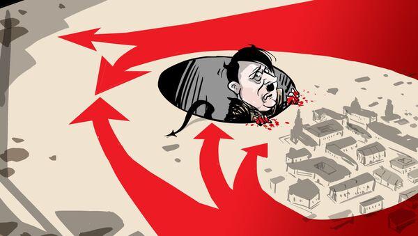 Нацистички демон, заробљен у јами коју је сам ископао - Sputnik Србија