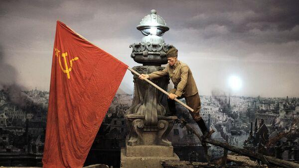 Застава победе на Рајхстагу - Sputnik Србија