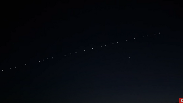Необични светлећи објекти појавили се на небу Хрватске  - Sputnik Србија