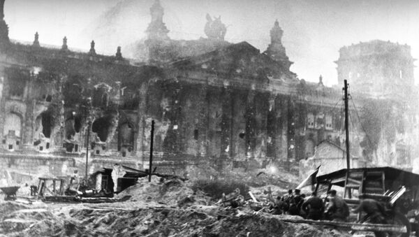 Bitka za Rajhstag na kraju Drugog svetskog rata - Sputnik Srbija