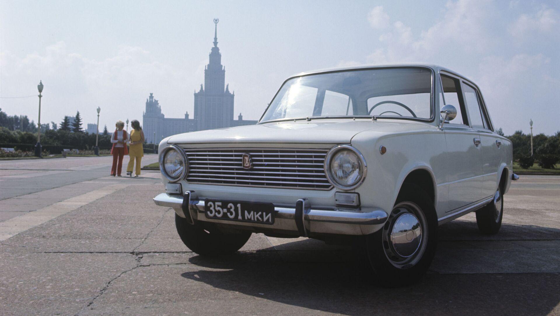 Sovjetski automobil VAZ 2101 Žiguli - Sputnik Srbija, 1920, 03.04.2021