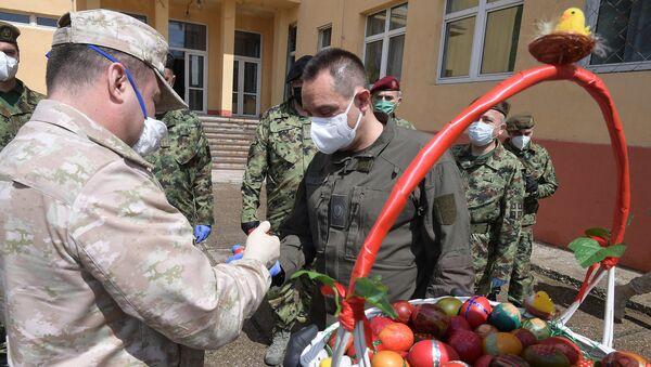 Aleksandar Vulin susreo se danas sa general-majorom Mihailom Černišovim - Sputnik Srbija