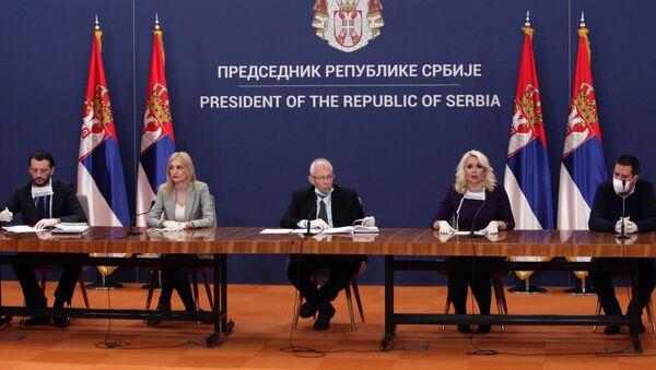 Предраг Кон и Дарија Кисић - Sputnik Србија