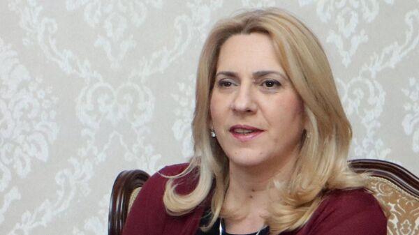 Председница Републике Српске Жељка Цвијановић - Sputnik Србија