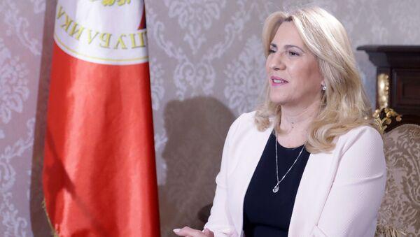 Predsednica Republike Srpske Željka Cvijanović - Sputnik Srbija