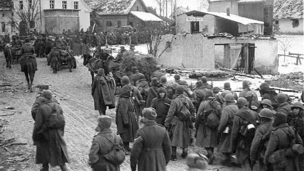Vojnici Crvene armije posle bitke kod Kalinjingrada - Sputnik Srbija