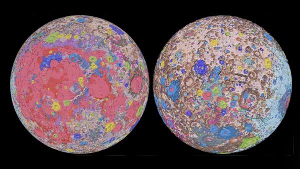 Обједињена геолошка карта Месеца - Sputnik Србија