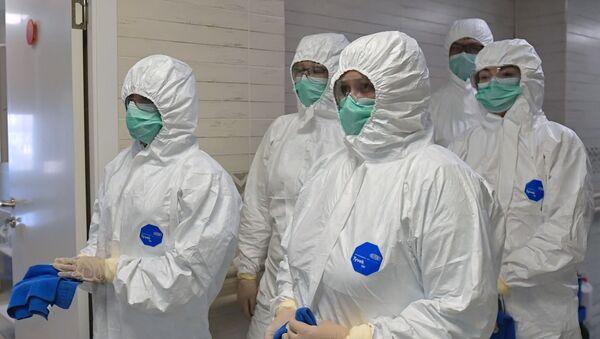 Medicinski radnici u Sankt Peterburgu - Sputnik Srbija