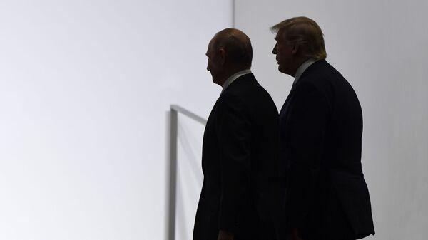 Владимир Путин и Доналд Трамп - Sputnik Србија