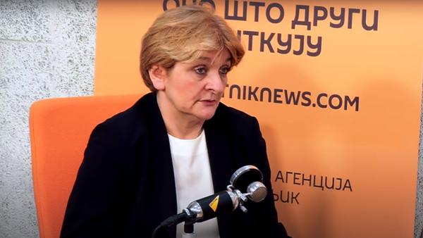 Докторка Даница Грујичић - Sputnik Србија