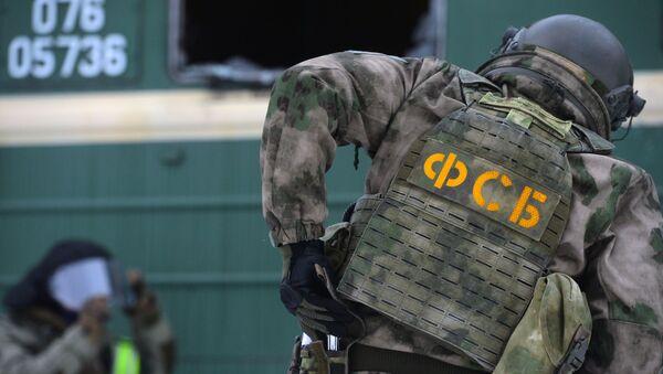 Pripadnik Federalne službe bezbednosti Rusije (FSB) - Sputnik Srbija